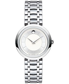 Women's Swiss 1881 Quartz Stainless Steel Bracelet Watch 28mm 0607098