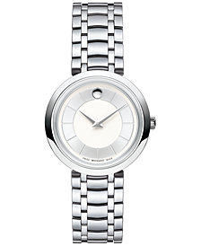 Movado Women's Swiss 1881 Quartz Stainless Steel Bracelet Watch 28mm 0607098