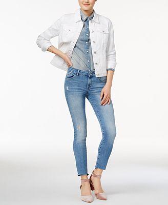 DL 1961 Margaux Instasculpt Released Step-Hem Jeans