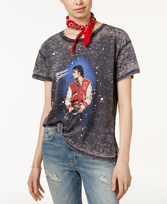 Junk Food Michael Jackson Cotton Graphic T-Shirt