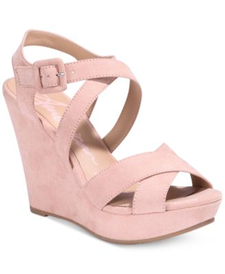 Image of American Rag Rachey Platform Wedge Sandals, Only at Macy's