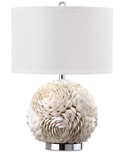 Macys Table Lamps Delectable Safavieh Pauley Shell Table Lamp Lighting Lamps For The Home