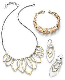 Two-Tone Fashion Jewelry Separates