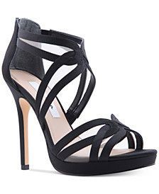 Nina Fayette Platform Evening Sandals
