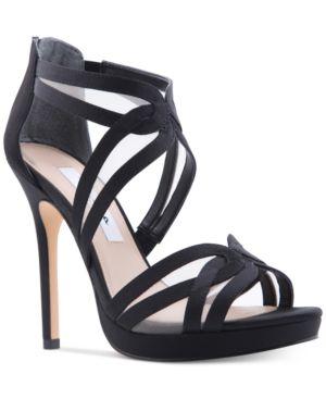 Nina Fayette Platform Evening Sandals Women's Shoes 4819209