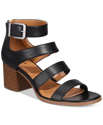 Style & Co Women's Naomii Block-Heel Sandals, Created for Macy's