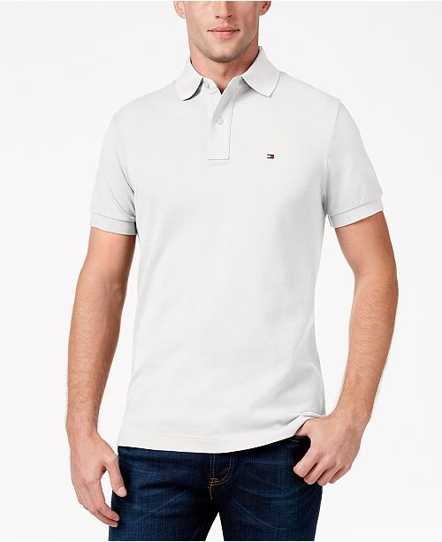 f76f3736de2 Tommy Hilfiger Men's Big and Tall Solid Ivy Polo & Reviews - Polos ...