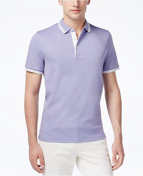 783c3854d4a0c7 Michael Kors Men's Liquid Cotton Greenwich Polo Shirt & Reviews ...