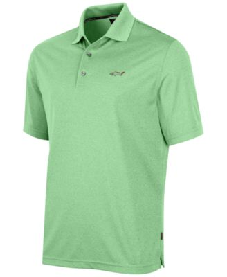Image of Greg Norman for Tasso Elba Men's 5 Iron Performance Golf Polo