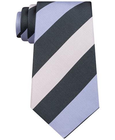 a3721bec5f31 Kenneth Cole Reaction Men's Modern Rugby Stripe Tie - Ties & Pocket ...