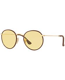 Ray-Ban ROUND CRAFT Sunglasses, RB3475Q