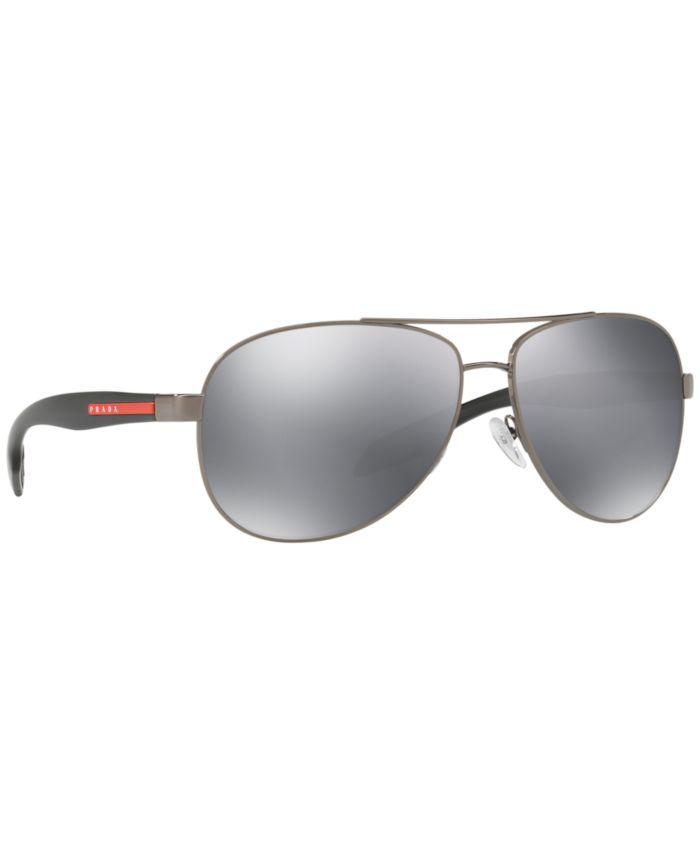 Prada Linea Rossa Sunglasses, PS 53PS & Reviews - Sunglasses by Sunglass Hut - Men - Macy's
