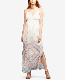 Seraphine Maternity Floral-Print Maxi Dress