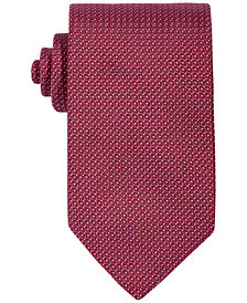 HUGO Men's Micro Dot Neat Slim Tie