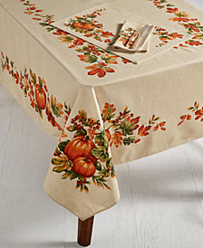 "Bardwil Harvest 60"" x 84"" Tablecloth"
