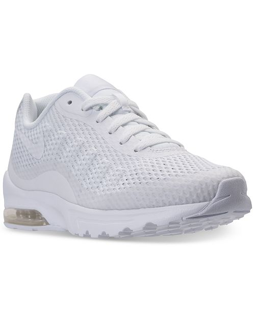 new product 743db e8dfe ... Nike Men s Air Max Invigor SE Running Sneakers from Finish ...
