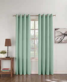 "Lichtenberg No. 918 Janice Crushed Microfiber 50"" x 63"" Curtain Panel"
