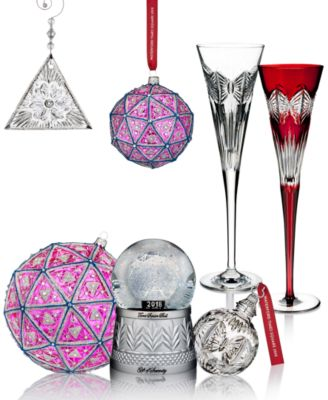 Waterford Crystal 2018 Times Square Collection - - Macy's