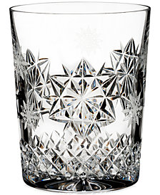 Waterford Snowflake Wishes For Friendship Double Old Fashioned Glass
