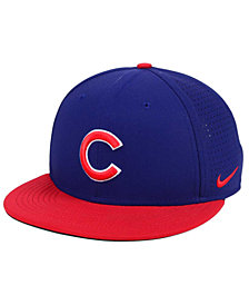 Nike Chicago Cubs Aero True Structured Velcro Cap