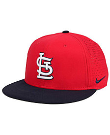 Nike St. Louis Cardinals Aero True Structured Velcro Cap