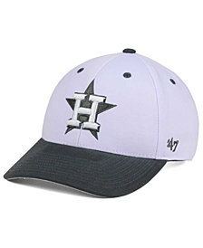 '47 Brand Houston Astros 2Tone White/Charcoal MVP Cap