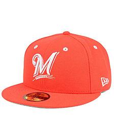 New Era Milwaukee Brewers Pantone Collection 59FIFTY Cap