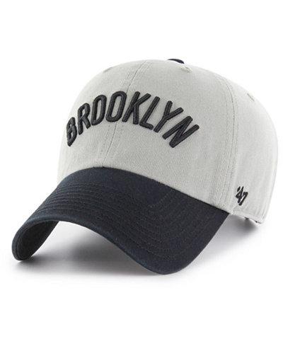 '47 Brand Brooklyn Nets 2-Tone Clean Up Cap