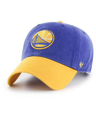 '47 Brand Golden State Warriors 2-Tone Clean Up Cap