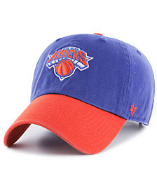 '47 Brand New York Knicks 2-Tone Clean Up Cap