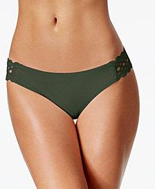 Becca Siren Eyelet Hipster Bikini Bottoms