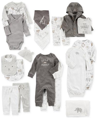 Carter's Blanket, Bandana Bibs, Bodysuits, Coveralls, Pants, Sleeper Gowns & Clothing Sets, Baby Boys & Girls