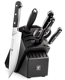 Zwilling J.A. Henckels Pro 7-Pc. Choose your Block Knife Set