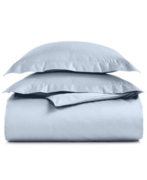 Aq Textiles Bergen King 3Pc Duvet Set 1000Thread Count 100 Egyptian Cotton Bedding