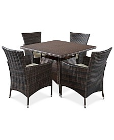Chiese 5-Pc. Bistro Set, Quick Ship
