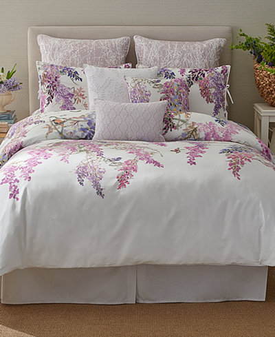 Sanderson Wisteria Falls Bedding Collection Bedding