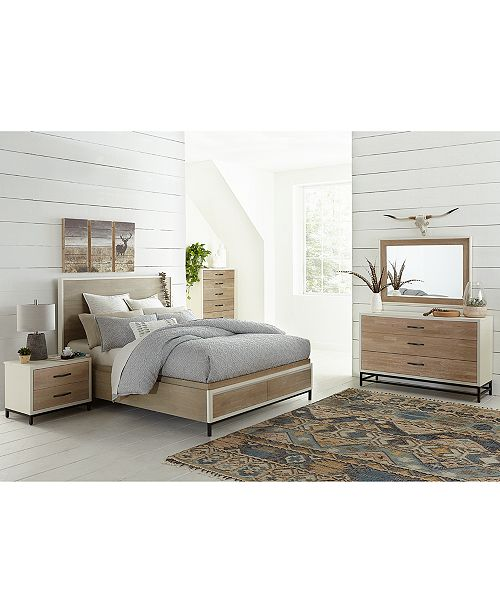 The Avery Storage Bedroom Furniture Collection Is Beautifully Crafted With Soft Tone Elm And Birch Veneers For A Refreshing Modern Look Features