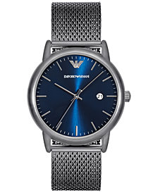 Emporio Armani Men's Luigi Stainless Steel Mesh Bracelet Watch 43mm AR11053
