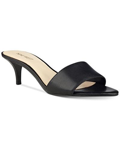 Nine West Lynton Slip On Dress Sandals Sandals Shoes