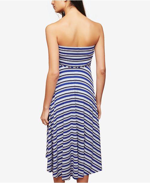 e318f450f96 Motherhood Maternity Strapless Striped Dress   Reviews - Maternity ...