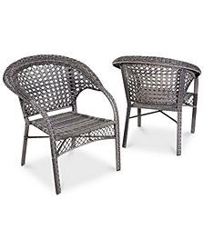 Jermin Club Chairs Set of 2, Quick Ship