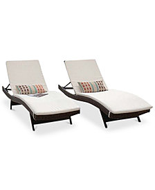 Sunbrella Lounge Cushion (Set of 2), Quick Ship