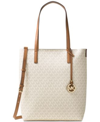 MICHAEL Michael Kors Signature Hayley Large North South Top Zip Tote