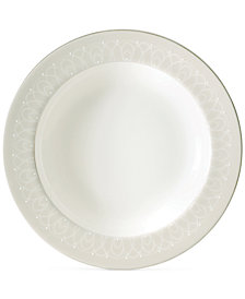 Waterford Ballet Icing Pearl Rim Soup Bowl