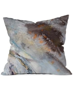 Deny Designs Ginette Fine Art Rust 16 Square Decorative Pillow