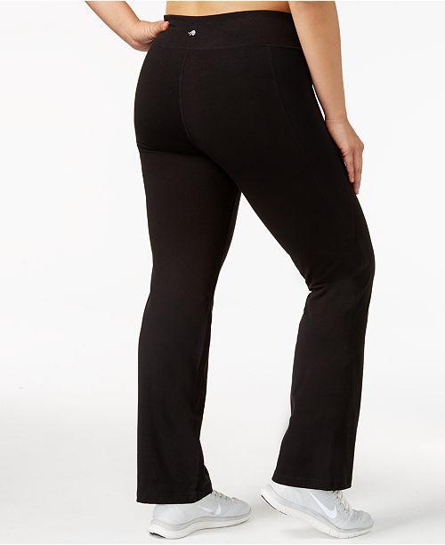e3d3a747bbc20 Ideology Plus Size Slimming Pants