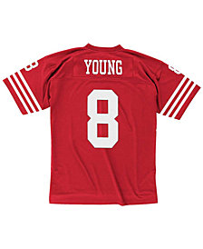 Mitchell & Ness Men's Steve Young San Francisco 49ers Replica Throwback Jersey