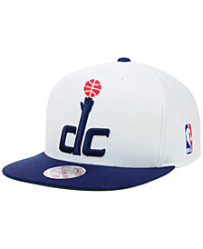 Mitchell & Ness Washington Wizards XL Logo Snapback Cap