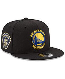 New Era Golden State Warriors All Metallic Hoops 9FIFTY Snapback Cap