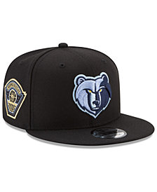 New Era Memphis Grizzlies All Metallic Hoops 9FIFTY Snapback Cap